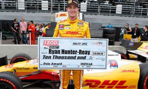 IndyCar: Ryan Hunter-Reay marca a pole em Edmonton. Mas quem larga na frente é Dario Franchitti