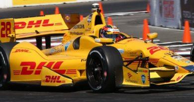 IndyCar: Ryan Hunter-Reay marca a pole em Long Beach