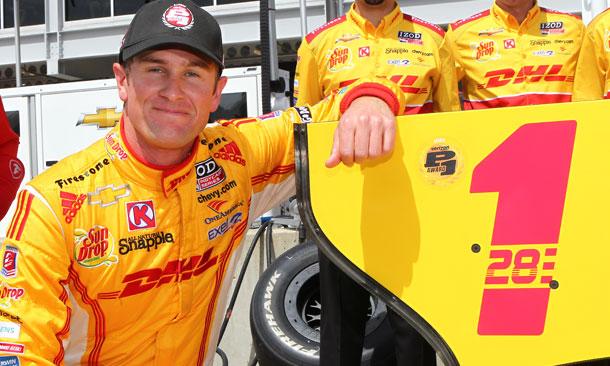 IndyCar: Ryan Hunter-Reay marca a pole em Barber