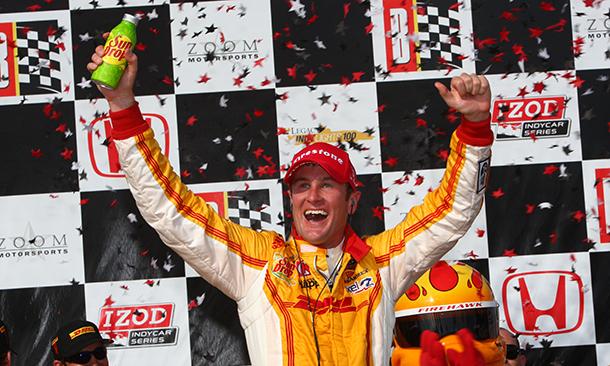 IndyCar: Ryan Hunter-Reay vence em Barber