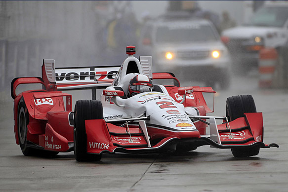 IndyCar: Chuva cancela treino em Detroit e Juan Pablo Montoya alinha na pole
