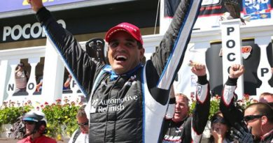 IndyCar: Juan Pablo Montoya vence em Pocono