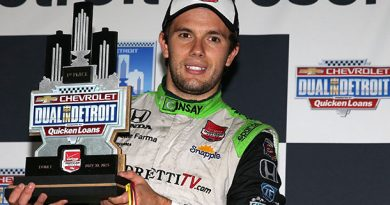 IndyCar: Carlos Muñoz vence prova interrompida pela chuva em Detroit