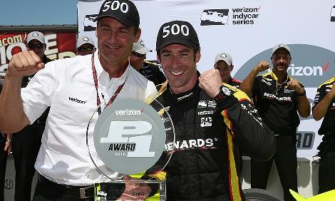 IndyCar: Simon Pagenaud marca a pole em Iowa