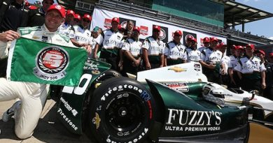 Indy500: Ed Carpenter marca a segunda pole consecutiva