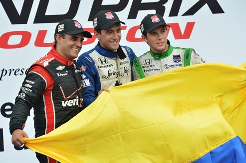 IndyCar: Carlos Huertas vence em Houston