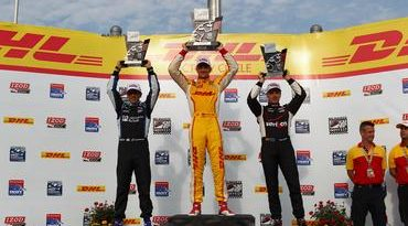 IndyCar: Ryan Hunter-Reay vence em Milwaukee