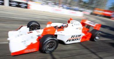 IndyCar: Will Power é pole em Long Beach. No retorno Helio Castroneves bate e sai em 8º