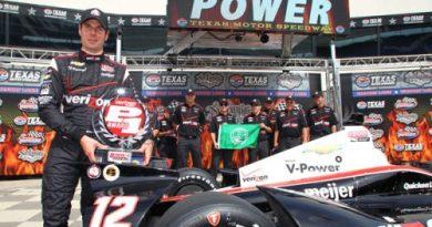 IndyCar: Will Power marca a pole no Texas