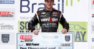 IndyCar: Will Power marca a pole em Sonoma