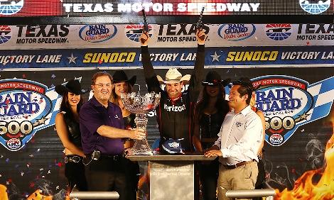 IndyCar: Will Power vence prova repleta de acidentes no Texas