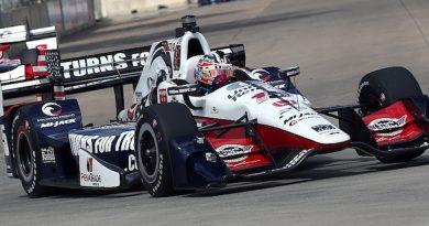 IndyCar: Graham Rahal vence primeira prova em Detroit