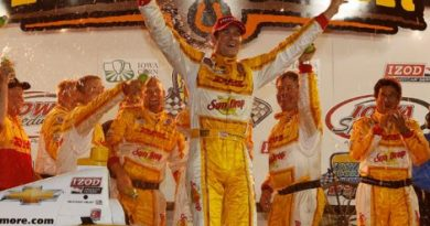 IndyCar: Ryan Hunter-Reay vence em Iowa