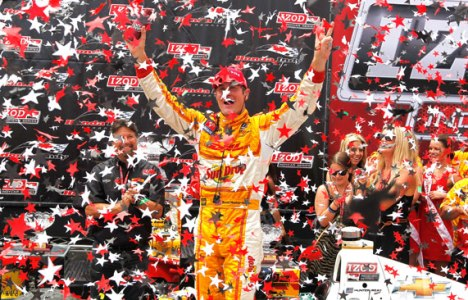 IndyCar: Ryan Hunter-Reay vence pela 3ª vez consecutiva a assume liderança do campeonato