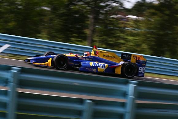 IndyCar: Em Watkins Glen Alexander Rossi conquista a primeira pole da carreira