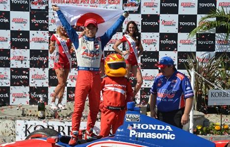 IndyCar: Em Long Beach, Takuma Sato conquista a primeira vitória
