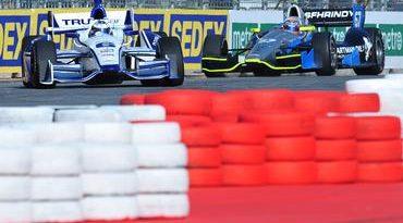 IndyCar: Carros já rasgam as retas do Anhembi