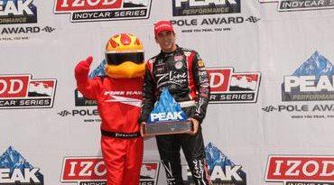 IndyCar: Justin Wilson marca a pole-position em Toronto