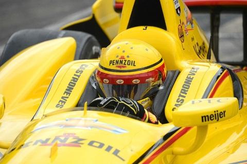 Indy500: Hélio Castroneves é o mais rápido da quinta-feira
