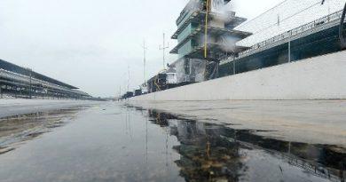 Indy500: Chuva encerra terceiro dia de testes