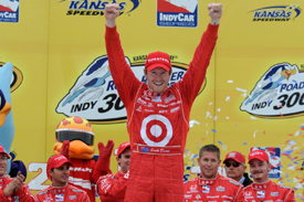 IndyCar: Scott Dixon vence no Kansas. Com 3º, Tony Kanaan assume liderança do campeonato