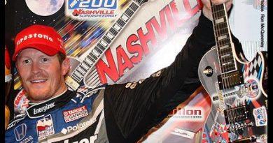 IndyCar: Chuva encurta prova em Nashville. Scott Dixon vence