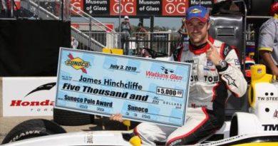 Indy Ligths: James Hinchcliffe marca a pole em Watkins Glen
