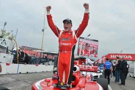 Indy Lights: Alex Baron vence em Toronto