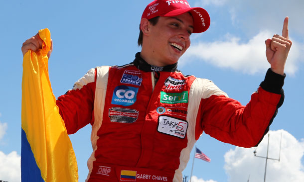 Indy Lights: Gabby Chaves vence em Mid-Ohio