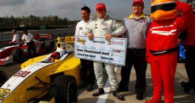 Indy Lights: Victor Garcia marca a pole no Alabama