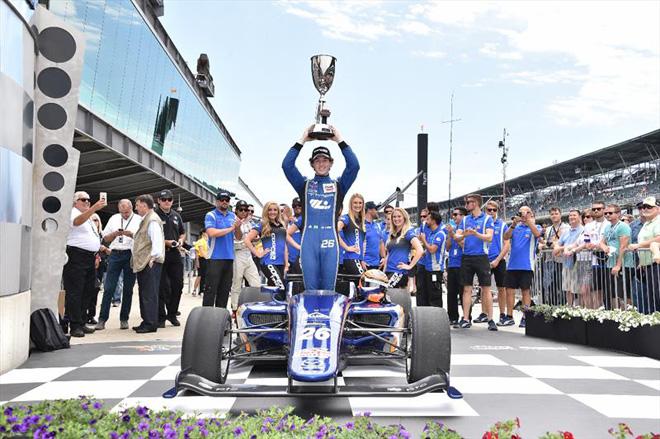 Indy Lights: Matheus Leist vence a Freedom 100