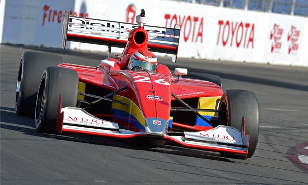 Indy Lights: Carlos Muñoz vence em Long Beach e assume liderança do campeonato