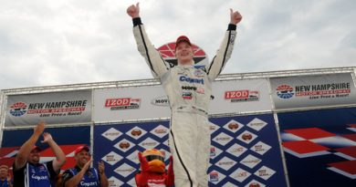 Indy Lights: Josef Newgarden vence em New Hampshire