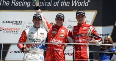 Indy Lights: Matthew Brabham e Luiz Razia vencem em Indianápolis