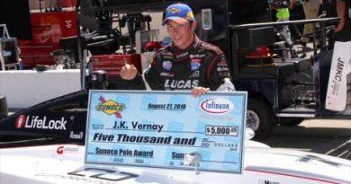 Indy Lights: J.K. Vernay larga na pole-position em Sonoma