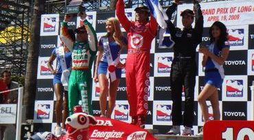 IndyCar: Dario Franchitti vence em Long Beach