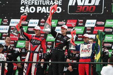 IndyCar: Will Power vence a São Paulo Indy 300