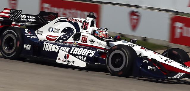IndyCar: Graham Rahal alinha na pole-position para a primeira prova em Detroit