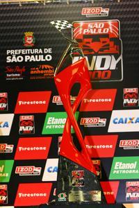 IndyCar: Vencedor da São Paulo Indy 300 receberá obra de arte como troféu