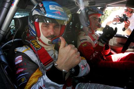 Rally: Nicolas Vouilloz leva campeão do WTCC para uma volta em Curitiba