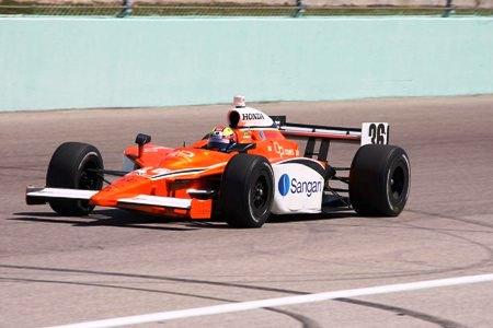 IRL: Enrique Bernoldi tira aprendizado de sua primeira corrida no oval de Homestead