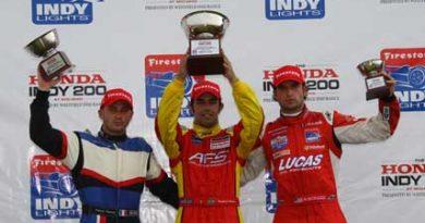Indy Lights: Raphael Matos vence e assume liderança isolada