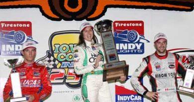 Indy Lights: Em seu retorno a categoria, Ana Beatriz vence em Iowa