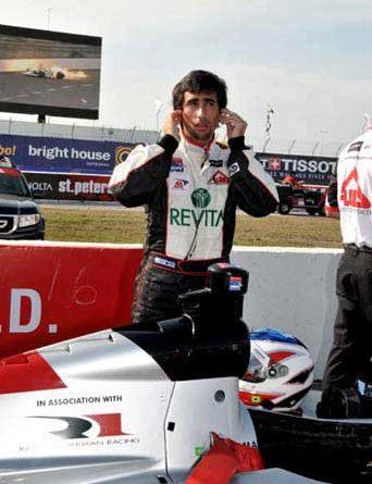 Indy Lights: Em sétimo, Romancini encerra a sexta-feira como o melhor brasileiro em Long Beach