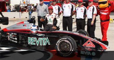 Indy Lights: Mario Romancini é o pole position em Milwaukee
