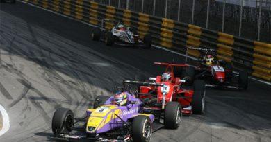 F3: Bruno Senna não completa GP de Macau