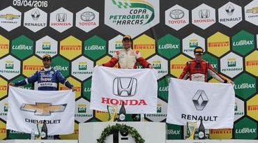 Copa Petrobras de Marcas: Honda começa 2016 vencendo com Vicente Orige