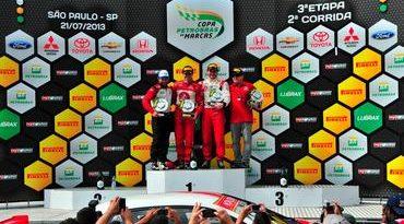 Copa Petrobras de Marcas: Zonta leva Toyota a mais uma vitória na Copa Petrobras