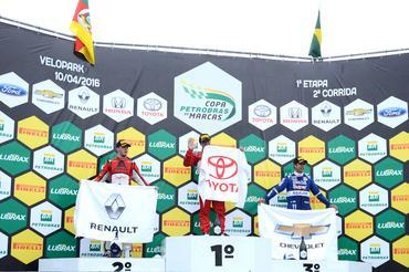 "Copa Petrobras de Marcas: ""Classificando"", Thiago Marques vence com Toyota"