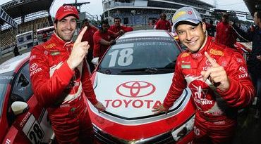 Copa Petrobras de Marcas: Toyota garante a pole em Interlagos com Khodair/Zonta